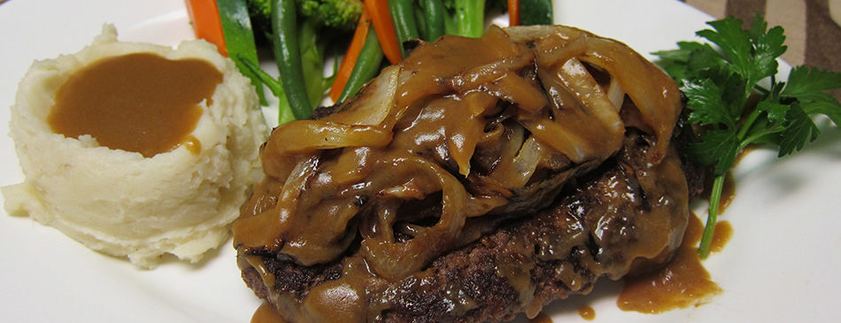 Grilled Chopped Steak