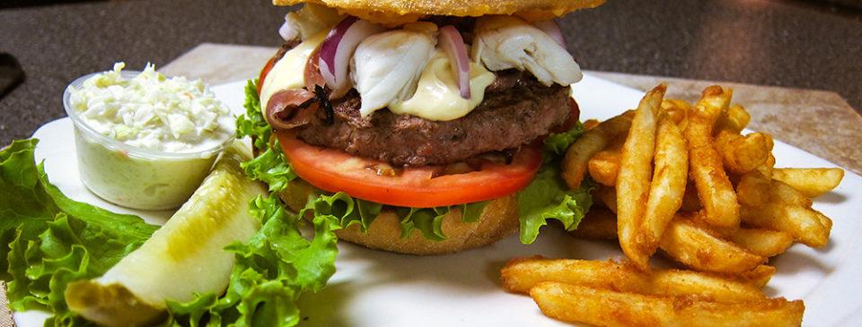 Louie's Crabby Burger